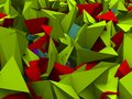 Free Spiked Polygons Royalty Free Stock Image - 24874866