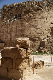 Free Masada Fortress Stock Photography - 24876442
