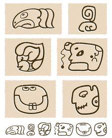 Free Aztec Style Comic Icon Set Stock Photos - 24876823