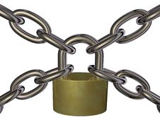 Free Lock And Chain Stock Photography - 24877012