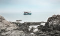 Free The Fishing Boat In The Sea Stock Photo - 24889140