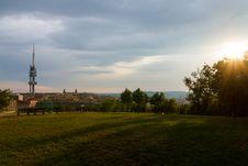 Free Sunset Over Prague Stock Photos - 24886223