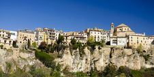 Free Cuenca, Spain. Panoramic View Royalty Free Stock Photography - 24887707
