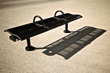 Free Bench Shadow Royalty Free Stock Image - 24888856