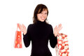 Free Pregnant Girl Holds Packages Stock Photos - 24894233