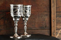Free Silver Goblets Stock Image - 24896861