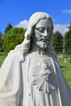 Free Jesus Christ Statue 1 Royalty Free Stock Image - 24890126