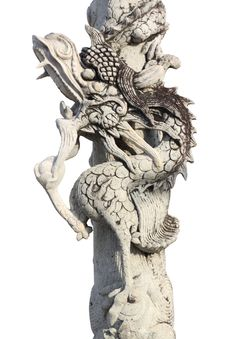 Free Dragon Statue Royalty Free Stock Photo - 24890715