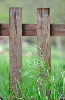 Free Wooden Fence Stock Photography - 24895222