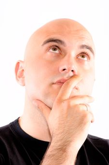 Thinking Man Stock Photos