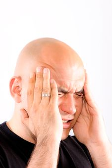 Free Bald Headache Stock Images - 24896574