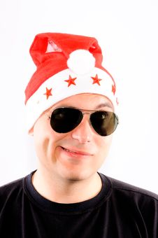 Free Funny Santa Stock Image - 24896681