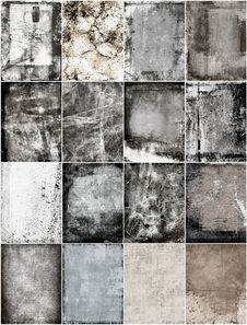 Free Set Grunge Texture Stock Images - 24899784