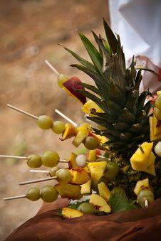 Free Pineapple Platter Royalty Free Stock Image - 24899796