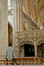 Free The Nave In  Brou Monastery Stock Photo - 2490620