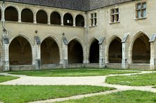 Free Brou Royal Monastery Cloister Royalty Free Stock Images - 2490599