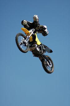 Free Stunt Biker Stock Image - 2492001