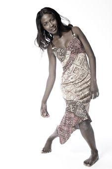 Free Model Walking Around Stock Images - 2492344