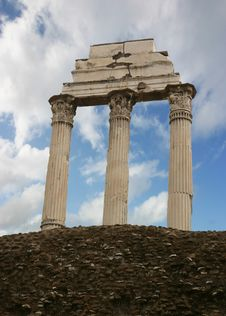 Free Ancient Columns Stock Image - 2494391