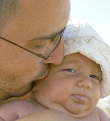 Free Father And Son Stock Photography - 2494442