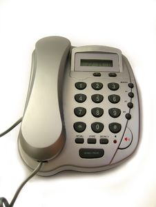 Free Grey Telephone Stock Images - 2494814