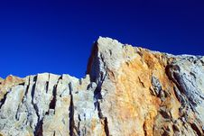 Free Stone On The Blue Sky Stock Photography - 2495082