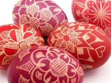 Free Nice Easter Eggs Royalty Free Stock Image - 2495956