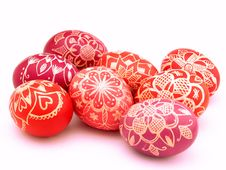 Free Colorful Easter Eggs Stock Photos - 2495963
