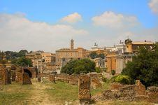 Free Roman Forum-church Royalty Free Stock Image - 2499126
