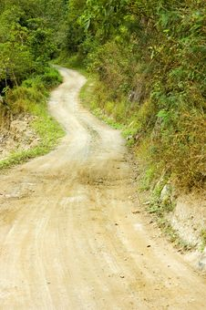 Free Winding Road Stock Photography - 2499192