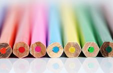 Free Color Pencil Ends Royalty Free Stock Image - 2499436