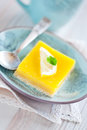 Free Lemon Grenadilla Tart Stock Photography - 24904822