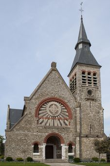 Free French Church Royalty Free Stock Photography - 24900287
