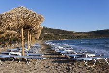 Free Beach Chairs Stock Photo - 24903570