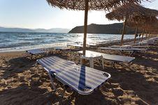 Free Beach Chairs Stock Photos - 24903653