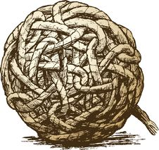 Hank Of Rope Stock Photography