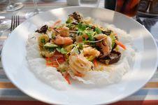 Free Asian Shrimp Salad Royalty Free Stock Photos - 24905288