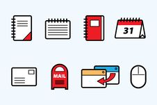 Free Web Icons Stock Photos - 24907773