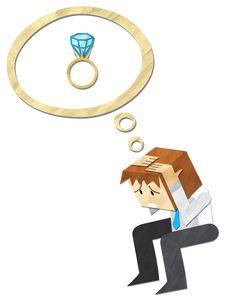 Free Headache With Wedding Ring Stock Photos - 24908603