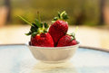 Free A Bowl Of Strawberries Royalty Free Stock Image - 24914006