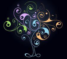 Free Creative Tree Shape Royalty Free Stock Photo - 24912095