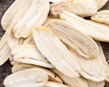 Free Dried Banana Royalty Free Stock Photos - 24915238