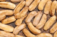 Dried Banana Royalty Free Stock Images