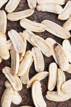 Dried Banana Stock Photo