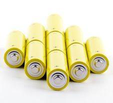 Free Batteries Royalty Free Stock Photos - 24915748