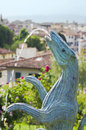 Free Vivre By Jean-Michel Folon &x28;Florence&x29; Stock Photography - 24926832