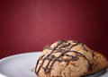Free Chunky Chocolate Chip Cookie Royalty Free Stock Images - 24927889