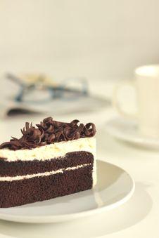 Free The Chocolate Cake Stock Image - 24922561