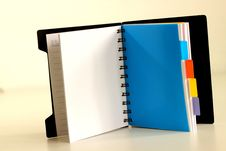 Free Notebook Royalty Free Stock Photo - 24923245