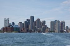 Free Boston Skyline Royalty Free Stock Photos - 24924588